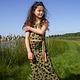 LoveStation22 Lange jurk / maxidress Nora groen  Lovestation22, zomer 2019