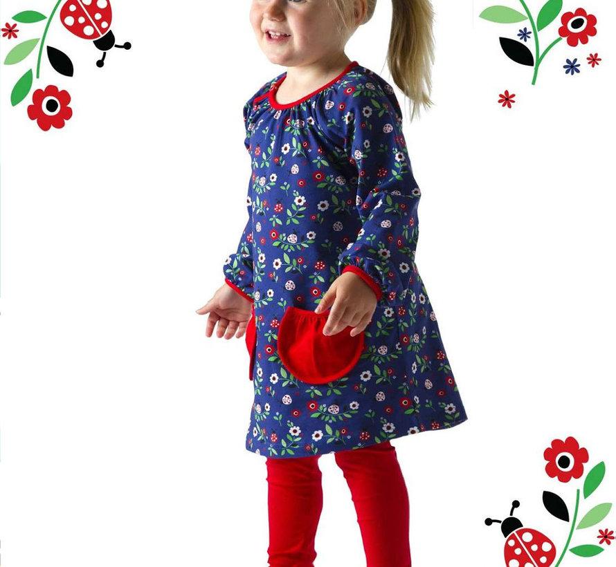 Tuniek jurkje van JNY Design met lieveheersbeestjes , maat 128