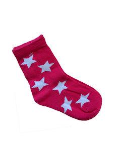 JNY Design sokken roze sterren