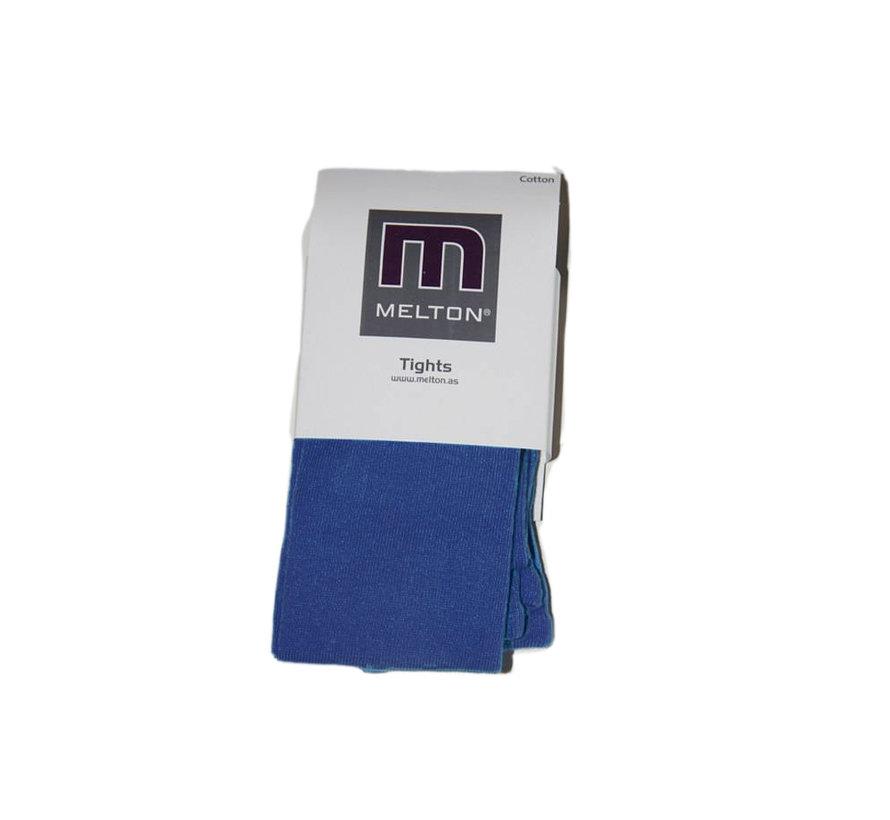 Blauwe Melton kindermaillot, maat 134/140