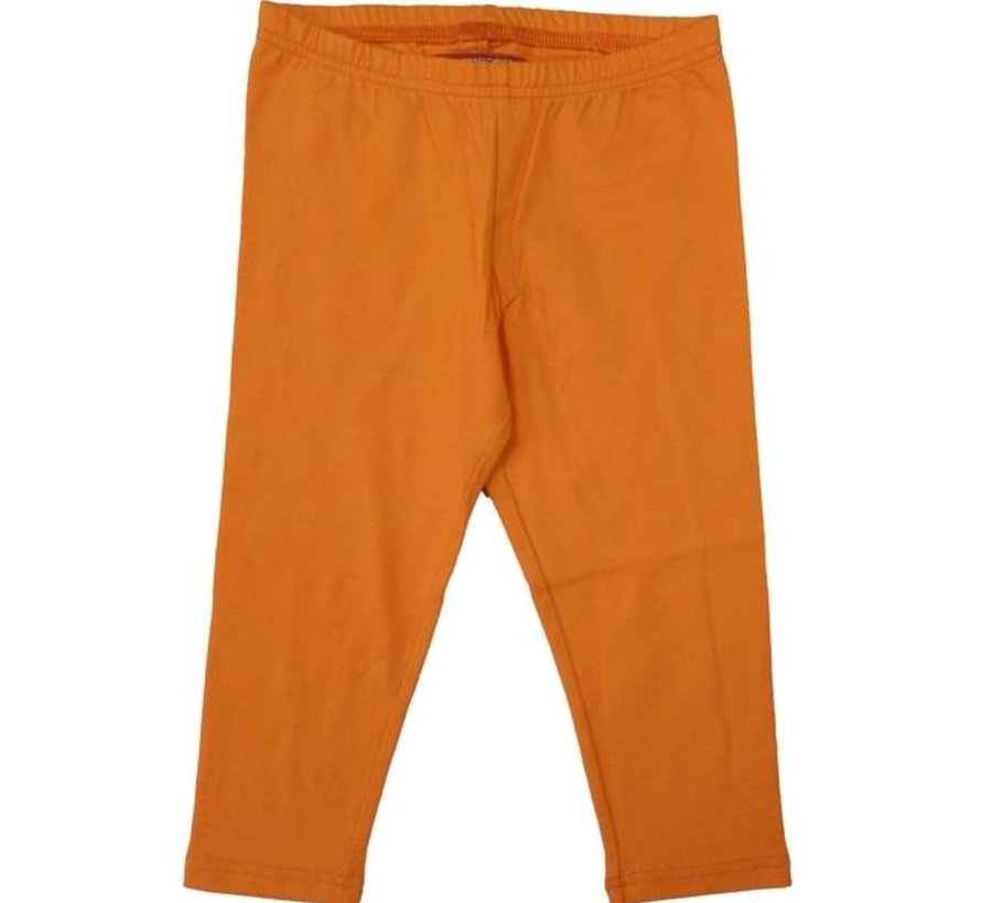 Legging Malou, oranjegeel, driekwart model