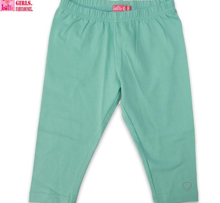 Legging driekwart in mint van LoFff