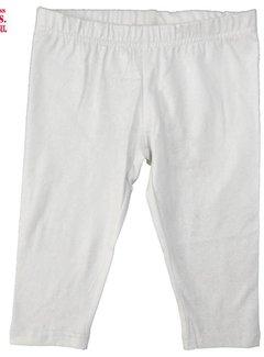 LoFff 50% korting: Legging wit met kleine zilveren puntjes