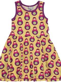 Maxomorra baboesjka jurkje mouwloos, maat 146/152