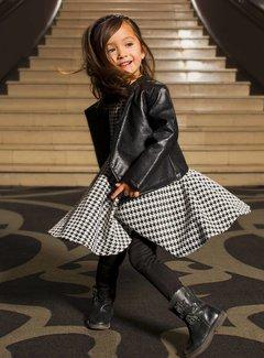 Soekartien -hand made  Zwart leren jasje