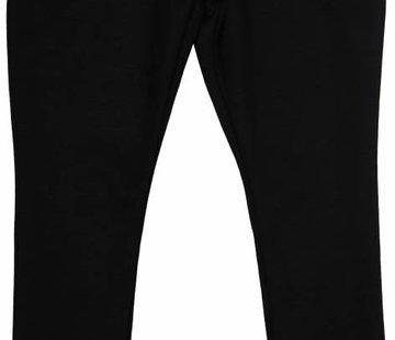 Soekartien -hand made  Zwarte legging met kantrandje