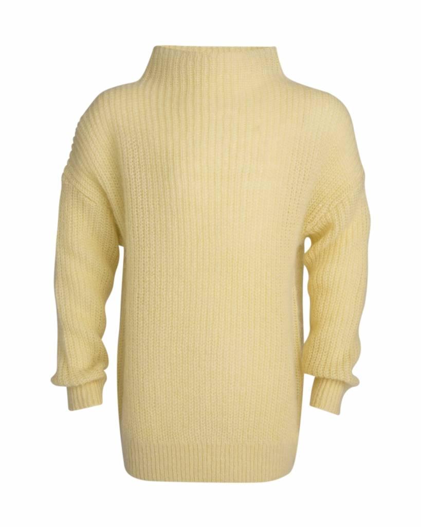 Little Remix Jr vicky sweater pastel yellow