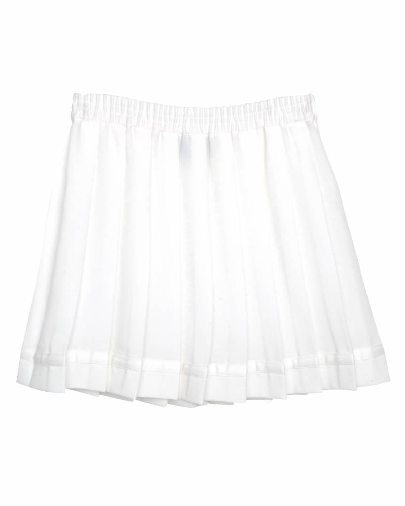Little Remix Luella pleated skirt cream