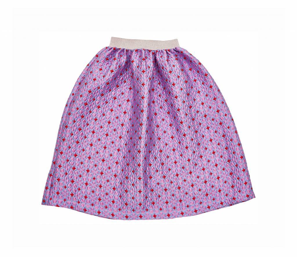 Iglo + Indi Lilac hearts skirt