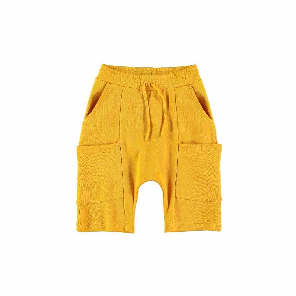 Yporqué Sporty cargo shorts yellow