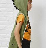 Yporqué Dino vest hoodie