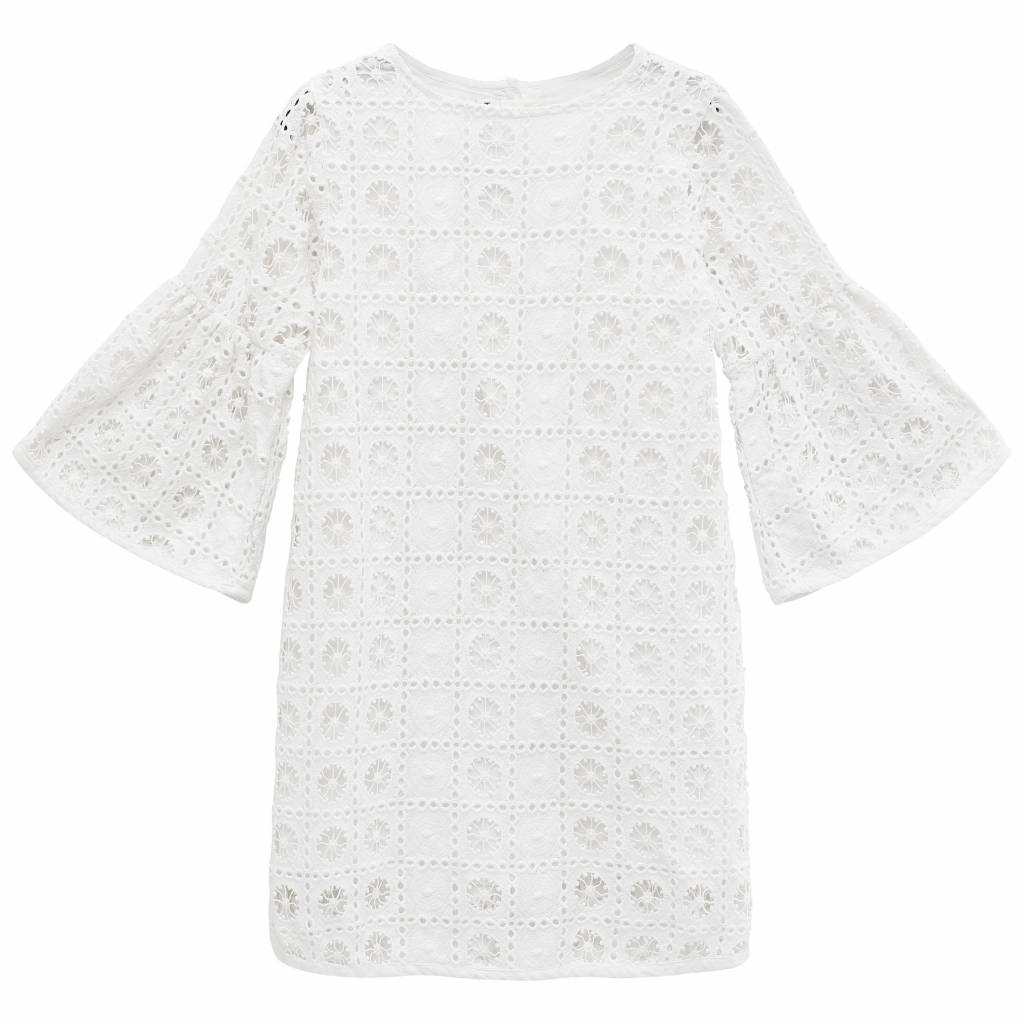 How to kiss a frog Trine dress lace white