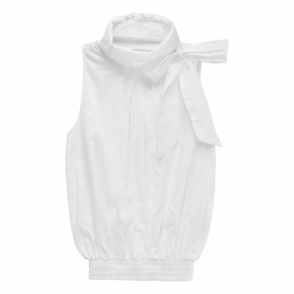 How to kiss a frog Julia top white