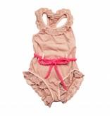 Cazandomariposas  Carol swimsuit pink