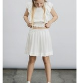 Little Remix Luella pleated skirt cream