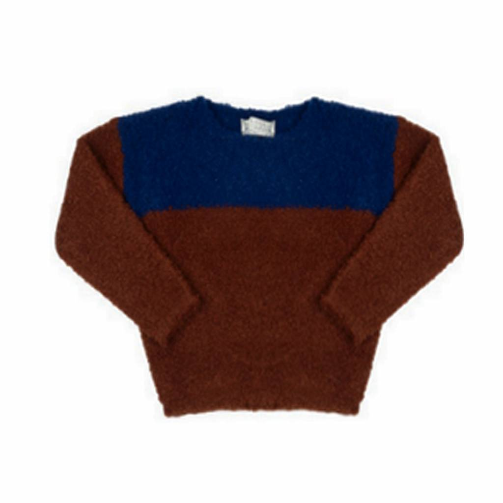 Indee Diamond jumper marsala