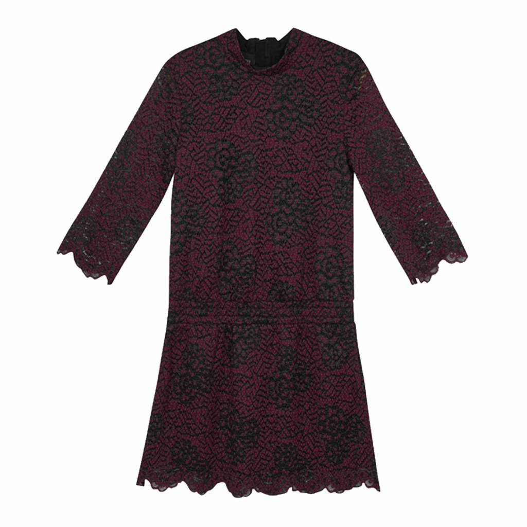 Little Remix Veronica dress burgundy