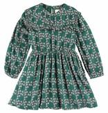 Simple Kids Pearl lennon dress green