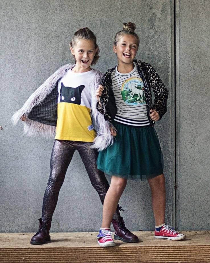 Yporqué Tule skirt green