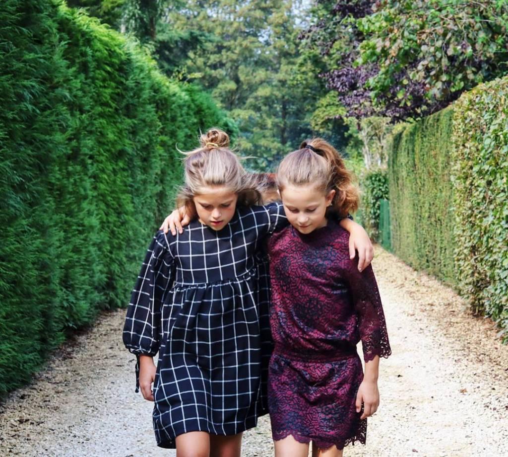 Little Remix Veronica dress burgundy