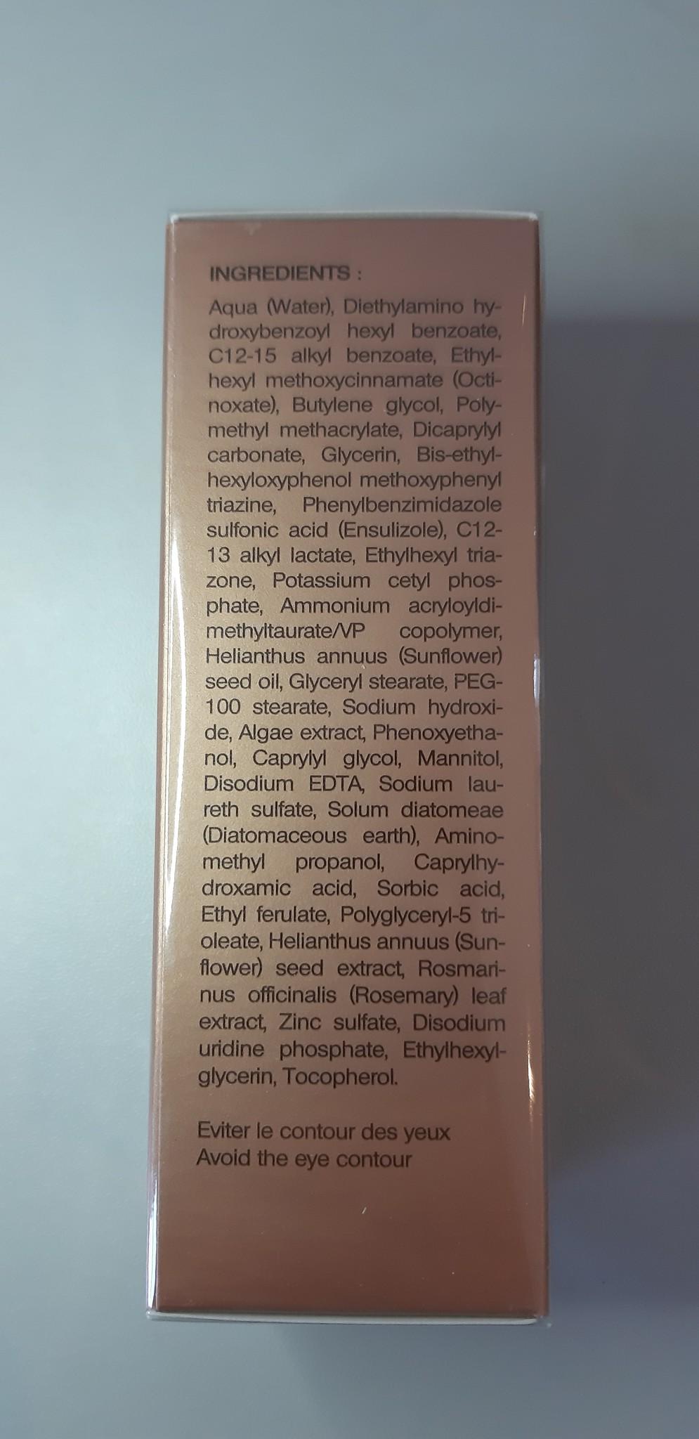 Sothys Fluide protecteur Zonnebrandcrème SPF50 voor gevoelige zones
