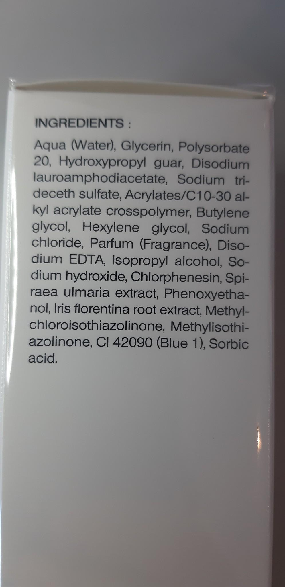 Sothys Gel moussant purifiant reiniging voor de vette huid
