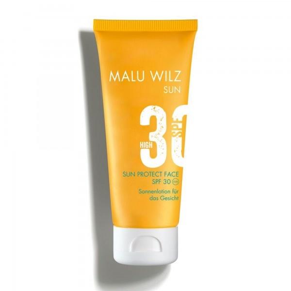 Malu Wilz Malu Wilz Zonnebrandcrème voor het gelaat SPF30/UVA/UVB
