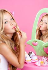 Nougatine natuurlijke producten voor kinderen vanaf 3 jaar Kinder Workshop Make-up en gelaatsverzorging Hamont-Achel Limburg op locatie