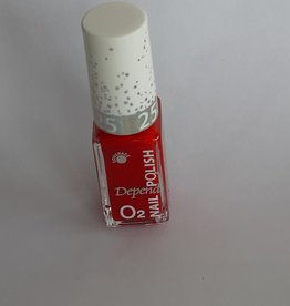 O2 Depend Nagellak zuurstofdoorlatend Nagellak O2 Depend zuurstof doorlatend nr. 606 rood
