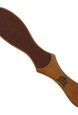 O2 Depend Nagellak zuurstofdoorlatend Podorape Houten voetvijl 2 kanten, grof en fijn