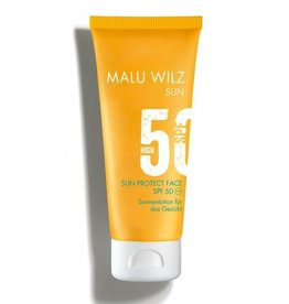 Malu Wilz Malu Wilz Zonnecrème voor het gelaat SPF50/UVA/UVB