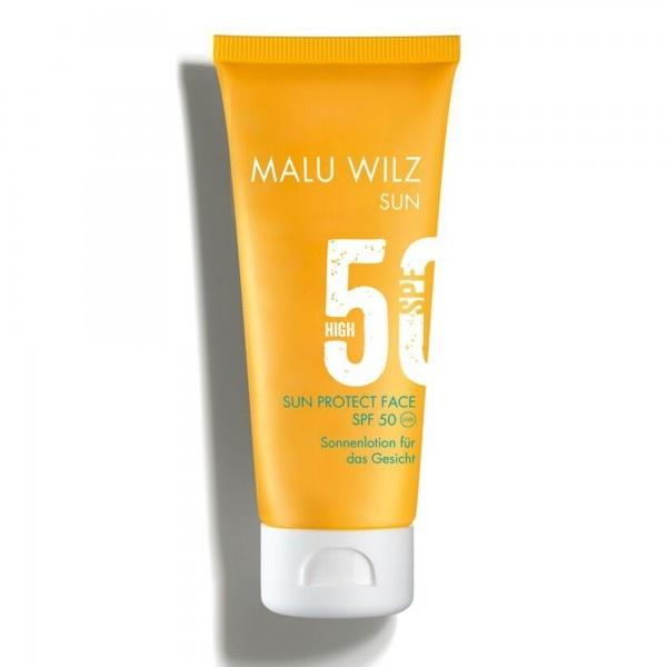 Malu Wilz Zonnebrandcrème voor het gelaat SPF50/UVA/UVB