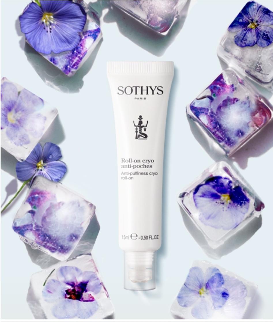 Sothys Cryo roll-on tegen wallen / Roll-on Cryo anti-poches Sothys