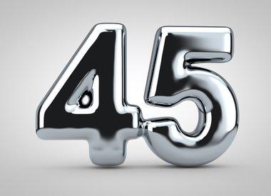 Gezichtscrème en serums vanaf 45 jaar