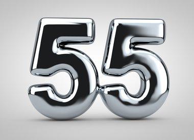 Gezichtscrème en serums vanaf 55 jaar
