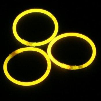 Knicklicht-Armbänder gelb