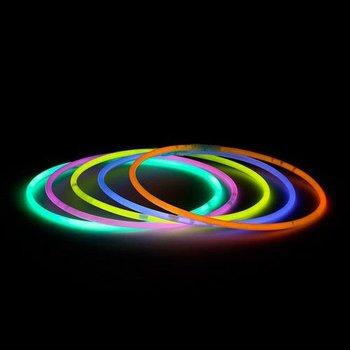 GlowFactory Knicklicht-Halsketten rot