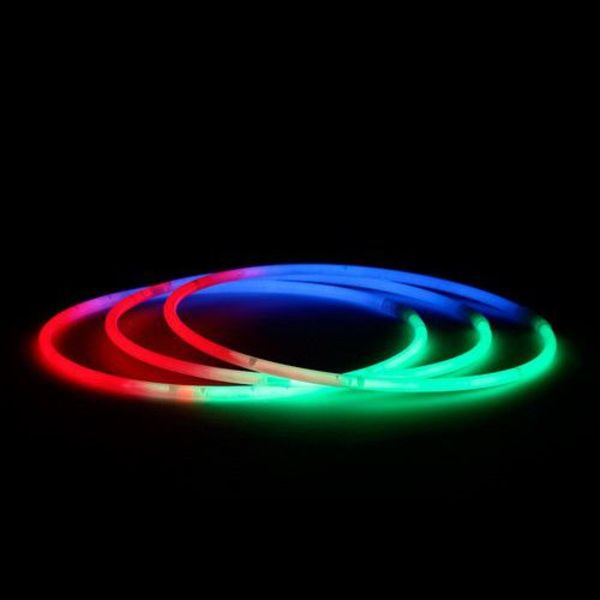 Glow Necklaces Tri Colour (bulk)