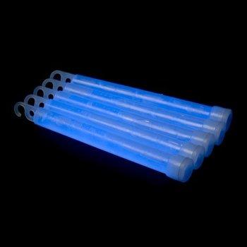 GlowFactory Glowstick 15 x 1 cm - Blauw