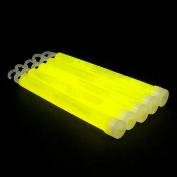 GlowFactory Glowstick 15 x 1 cm - Geel
