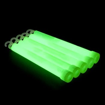 Glowstick 15 x 1 cm - Groen