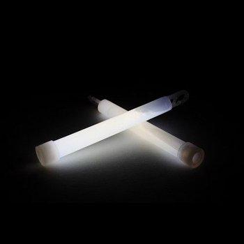 GlowFactory Glowstick 15 x 1 cm - Wit