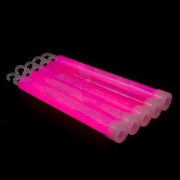 GlowFactory Glowstick 15 x 1 cm - Roze