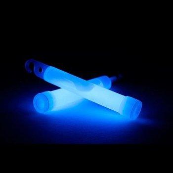 GlowFactory Glowstick 10 x 1 cm - Blauw