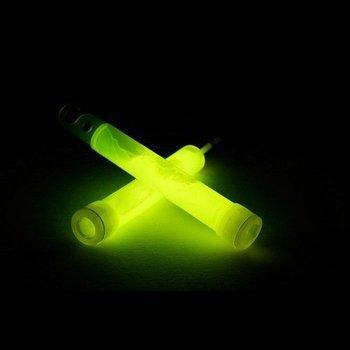 GlowFactory Glowstick 10 x 1 cm - Geel