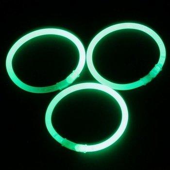 GlowFactory Glowsticks Armbanden - Groen