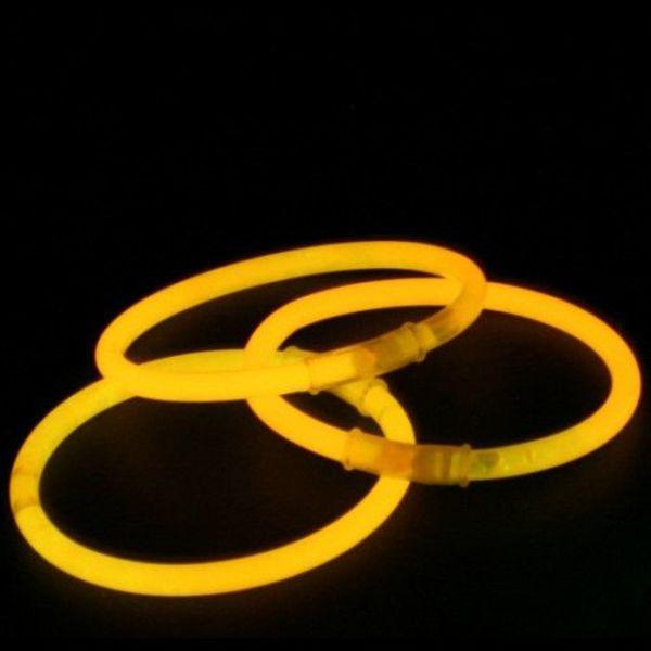 Knicklicht-Armbänder orange (bulk)