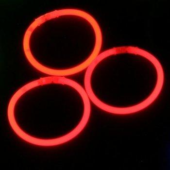GlowFactory Glow Bracelets Red