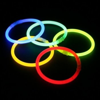 GlowFactory Glow Bracelets Mix Colours / 12 pack