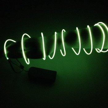 GlowFactory EL Wire 2 meter - Geel